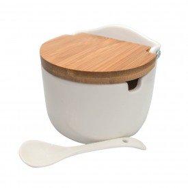 saleiro porcelana com tampa 8606 lyor casa cafe mel