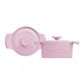 mini cacarola de porcelana com tampa rosa bebe2 8877810 24 00 germer casa cafe mel