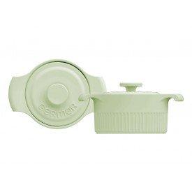 mini cacarola de porcelana com tampa verde claro 2 8877810 35 00 germer casa cafe mel