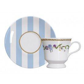 xicara de cha porcelana capri floral chic individual 4 2793820 07 07205 germer casa cafe mel