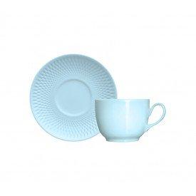 xicara de cha porcelana oslo quartzo azul individual 4 2393820 29 00 0000 germer casa cafe mel