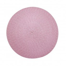 americano redondo trama individual rosa o38cm cs0103 r gzt casa cafe mel