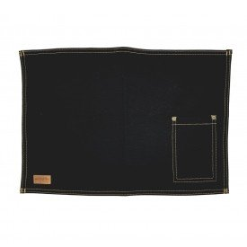 jogo americano jeans preto bolso estreito individual 01615 merkatto casa cafe mel 1