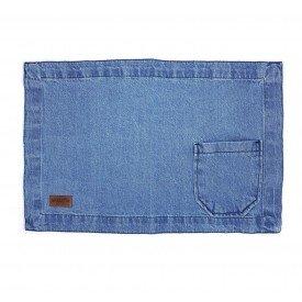 jogo americano jeans claro bolso largo individual 01612 merkatto casa cafe mel 1