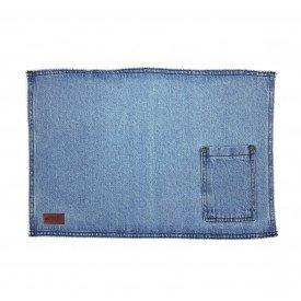jogo americano jeans claro bolso estreito individual 01614 merkatto casa cafe mel 1