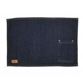 jogo americano jeans escuro bolso estreito individual 01613 merkatto casa cafe mel 1