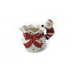 jarra natal ceramica papai noel 1388 casa cafe mel 1