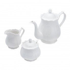 conjunto cha e cafe de porcelana fancy branco 17275 rojemac casa cafe mel 2