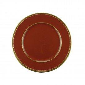 sousplat de plastico marsala 61129 bon gourmet casa cafe mel 1