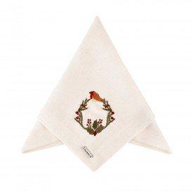 guardanapo de tecido linhao bird nest individual 003173 mameg casa cafe mel 1