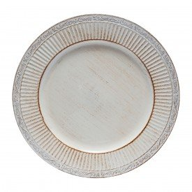 sousplat de plastico 33cm branco com detalhes 30177 bon gourmet casa cafe mel 1