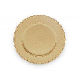 sousplat de plastico 33cm dourado 30370 bon gourmet casa cafe mel 1