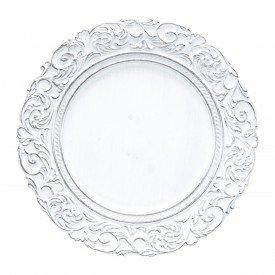 sousplat de plastico 35cm apolo preto e branco 30430 bon gourmet casa cafe mel 1