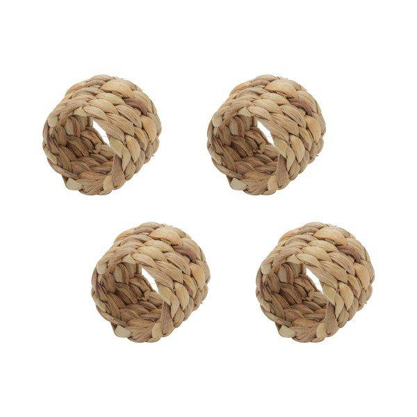 argola para guardanapo de fibra natural 35639 rojemac casa cafe mel 6