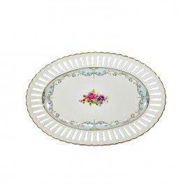 travessa de porcelana oval new bone china l hermitage 26242 full fit casa cafe mel