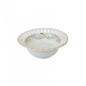 bowl de porcelana new bone china individual l hermitage 26243 full fit casa cafe mel