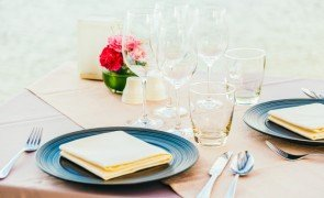 romantic dining table setting with wine glass other 74190 7639