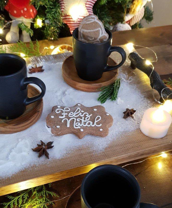 bandeja de madeirarustica pegador de metal galho casa cafe e mel 4