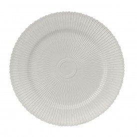 sousplat de plastico onix branco cinza 7715 lyor casa cafe mel
