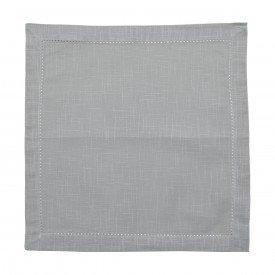 guardanapo de tecido cinza claro 2 pecas 27552 bon gourmet casa cafe mel 1