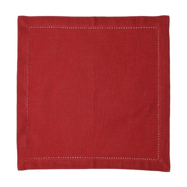 guardanapo de tecido vermelho 2 pecas 27553 bon gourmet casa cafe mel 1