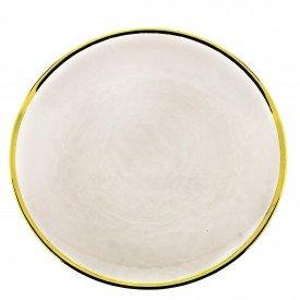 prato de sobremesa individual cristal com borda dourada agate 27807 rojemac casa cafe mel 1