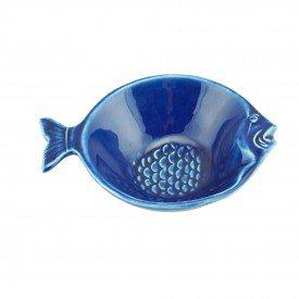 mini bowl petisqueira ceramica peixe ocean azul 14cm individual 28098 rojemac casa cafe mel 1
