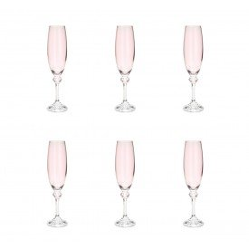 taca para champagne cristal elisa rose 6 pecas 220ml 35138 rojemac casa cafe mel 3