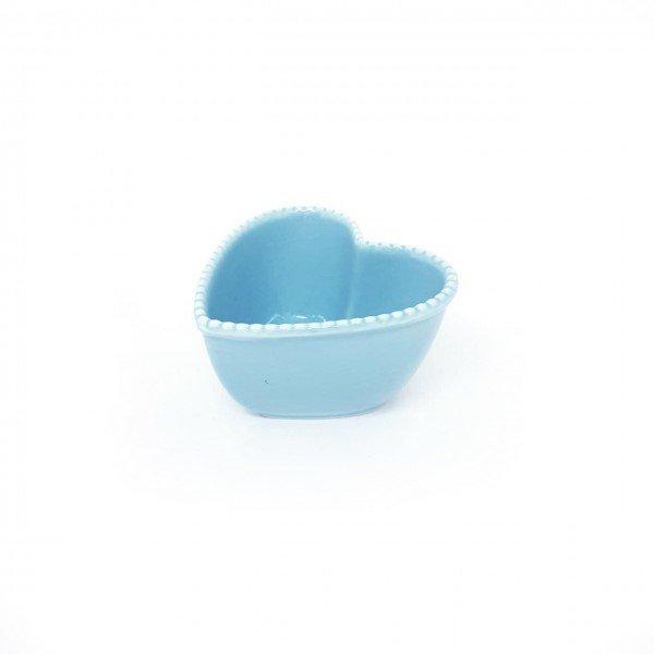 mini petisqueira ceramica coracao azul detalhe bolhinha z1530 a casa cafe mel 1