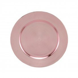 sousplat de plastico individual opala rose 7710 lyor casa cafe mel 1