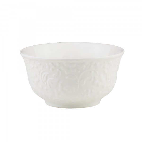 bowl de porcelana new bone flower branco individual 8386 lyor casa cafe mel 2