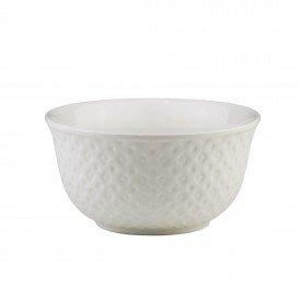 bowl de porcelana new bone losango branco individual 8390 lyor casa cafe mel 2