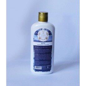 refil sabonete liquido flores brancas 250ml 4383 madressenza casa cafe mel
