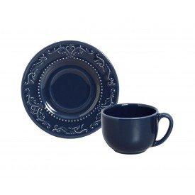 xicara de cha ceramica acanthus deep blue 36483201 porto brasil casa cafe mel