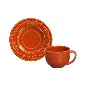 xicara de cha ceramica acanthus cantaloupe 364876801 porto brasil casa cafe mel