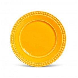 prato raso ceramica atenas mostarda 410152 porto brasil casa cafe mel
