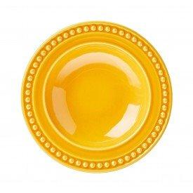 prato fundo ceramica atenas mostarda 410153 porto brasil casa cafe mel