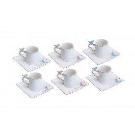xicara de cafe com pires porcelana birds design 6 pecas 35469 wolff casa cafe mel 1