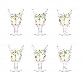 tacas para agua palmeira 6 pecas 240ml 1239 lyor casa cafe mel 8