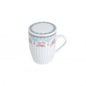 caneca de porcelana white amelia verdebranco com tampa e filtro 310ml poa 2179 lyor casa cafe mel 1