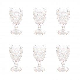 taca para vinho diamond transparente 325ml 6 unidades 6473 lyor casa cafe mel 5