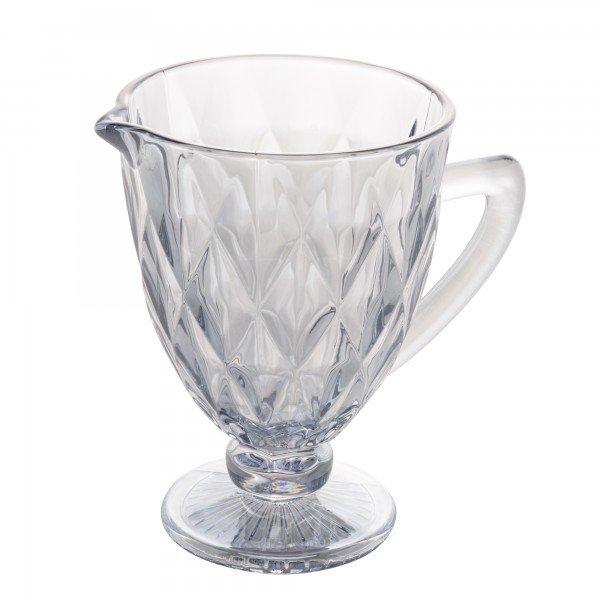 jarra de vidro diamond 1 1 litro transparente 6470 lyor casa cafe mel 1