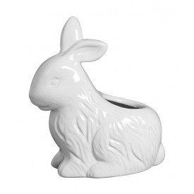 vaso coelho pascoa ceramica branco 01 263 silveira casa cafe mel
