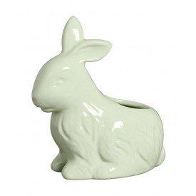 vaso coelho pascoa ceramica verde 79 263v silveira casa cafe mel