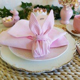 argola guardanapo pascoa coelho rosa poa individual 0003 amora casa casa cafe mel 7