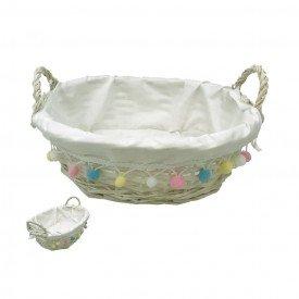 cesta pascoa forrada de vime branco 68437001 casa cafe mel