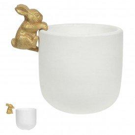 vaso pascoa coelho pendurado branco 68996002 casa cafe mel
