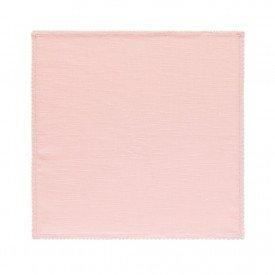 guardanapo de tecido verona rosa cha 200727 copa e cia casa cafe mel 1
