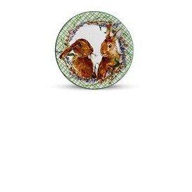 prato sobremesa ceramica pascoa scalla bunny verde 6 pecas casa cafe e mel 5