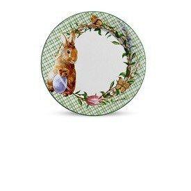 prato raso ceramica pascoa bunny verde scalla casa cafe e mel
